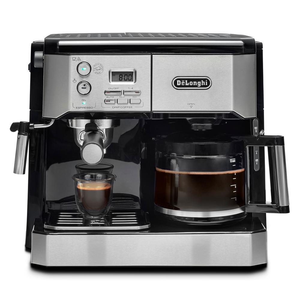 DeLonghi Combi 10-Cup Coffee Maker-BCO430T