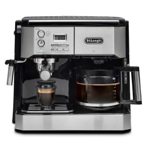Delonghi All In One Pump Espresso And 10 Cup Drip Coffee