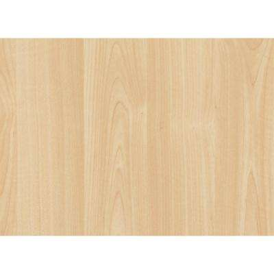 Maple 17 in. x 78 in. Home Decor Self Adhesive Film (2-Pack)