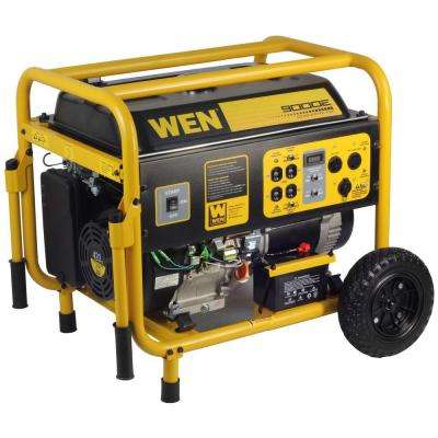 9,000-Watt Generator with Electric Start and Wheel Kit