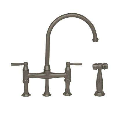 Bridge Faucets - Kitchen Faucets - The Home Depot