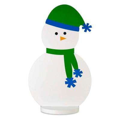 30.9 in. Christmas Roger the Snowman Decoration