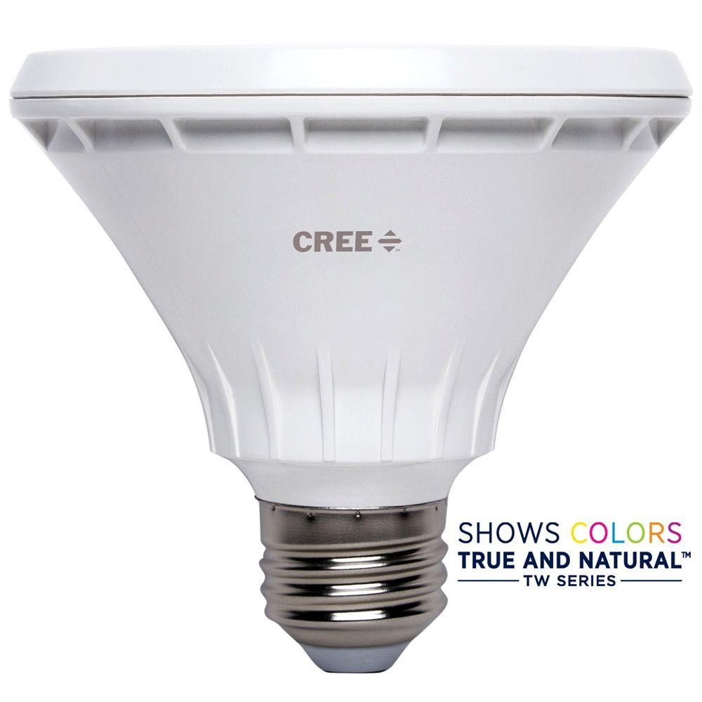 75W Equivalent Bright White PAR30 Short Neck 40 Degree Flood Dimmable