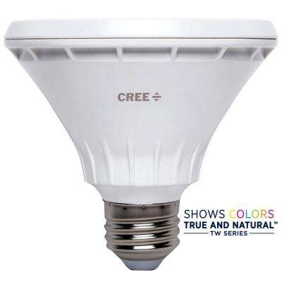 75W Equivalent Bright White PAR30 Short Neck 40 Degree Flood Dimmable LED Light Bulb