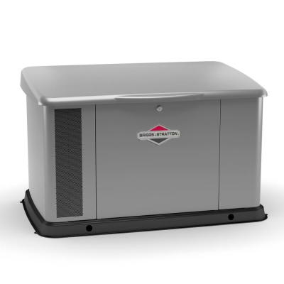 20,000-Watt Automatic Air Cooled Standby Generator with Dual 200 Amp Whole House Transfer Switch