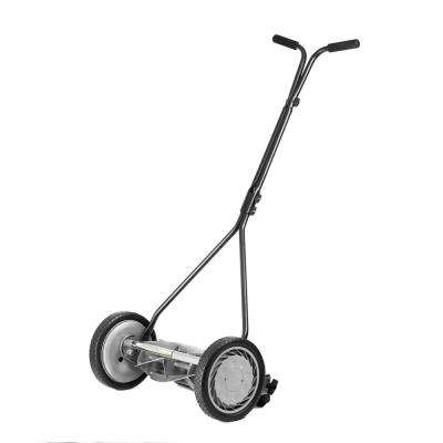 16 in. Manual Walk Behind Reel Lawn Mower