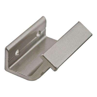 Satin Nickel Horizontal Hook Bracket Kit