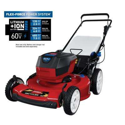 22 in. Recycler 60-Volt Max Lithium-Ion Cordless Battery Walk Behind Push Lawn Mower - Battery/Charger Not Included