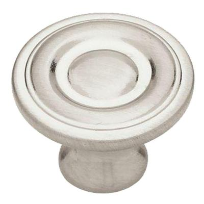 1-1/4 in. (32mm) Satin Nickel Ring Round Cabinet Knob