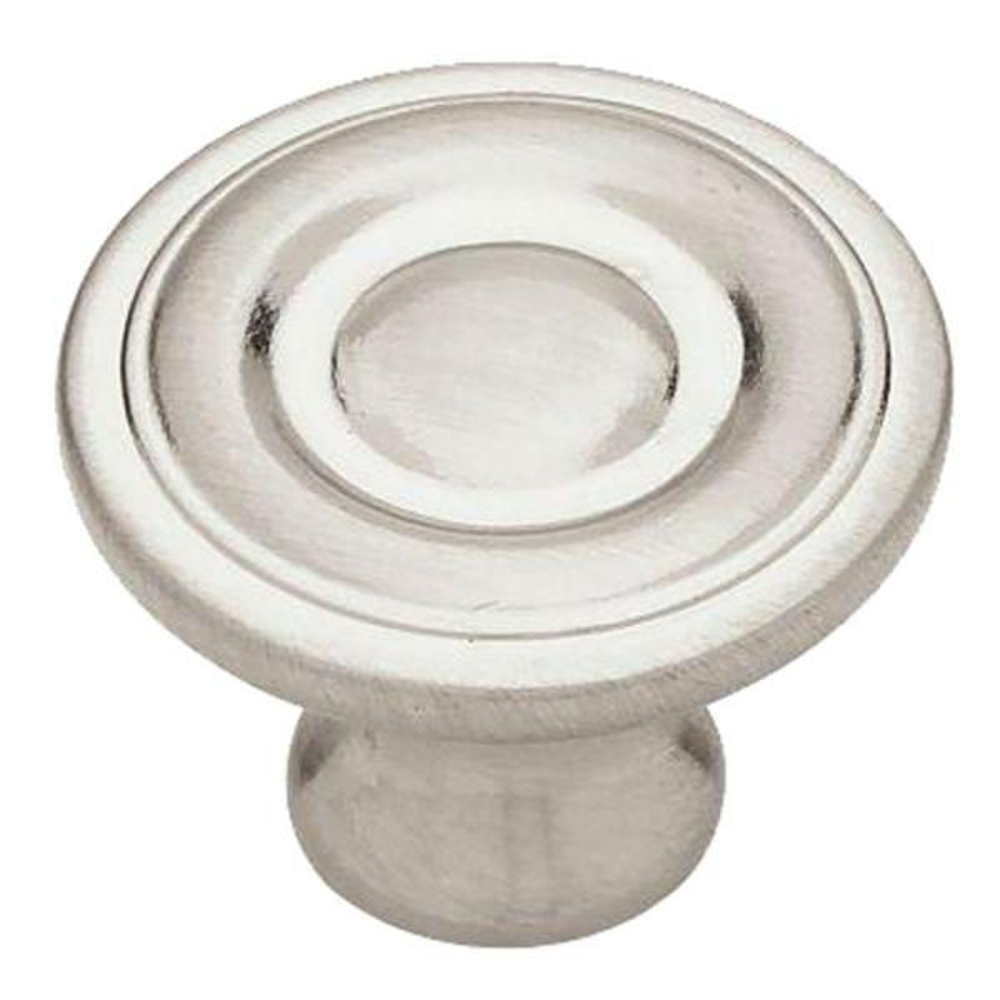 1-1/4 in. (32mm) Satin Nickel Ring Round Cabinet Knob