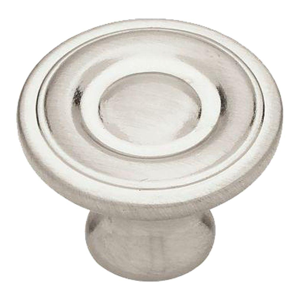 Liberty 1-1/4 in. (32mm) Satin Nickel Ring Round Cabinet Knob (10-Pack)