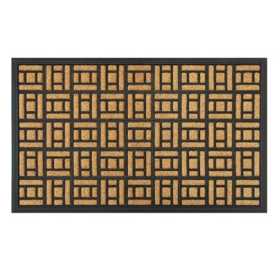 18 In X 30 In Bali Rubber Inlay And Backing Door Mat Kgtm 1289 The Home Depot