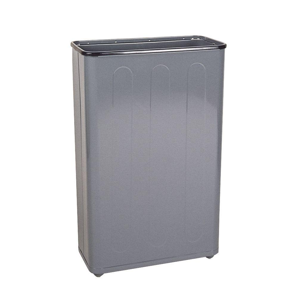 Without Lid - Indoor - Metal - Trash Cans - Trash & Recycling ...