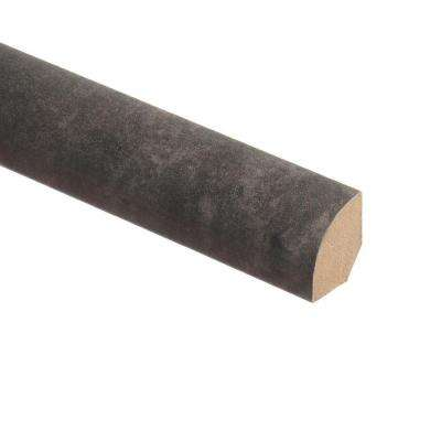 Slate Shadow/Monson 5/8 in. Thick x 3/4 in. Wide x 94 in. Length Laminate Quarter Round Molding
