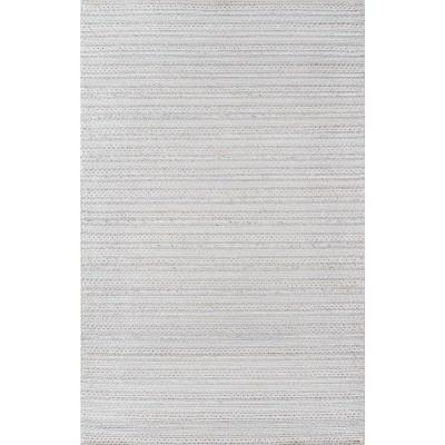 Andes Light Grey 5 ft. x 7 ft. Indoor Area Rug