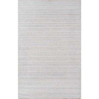 Andes Light Grey 7 ft. 9 in. X 9 ft. 9 in. Indoor Area Rug