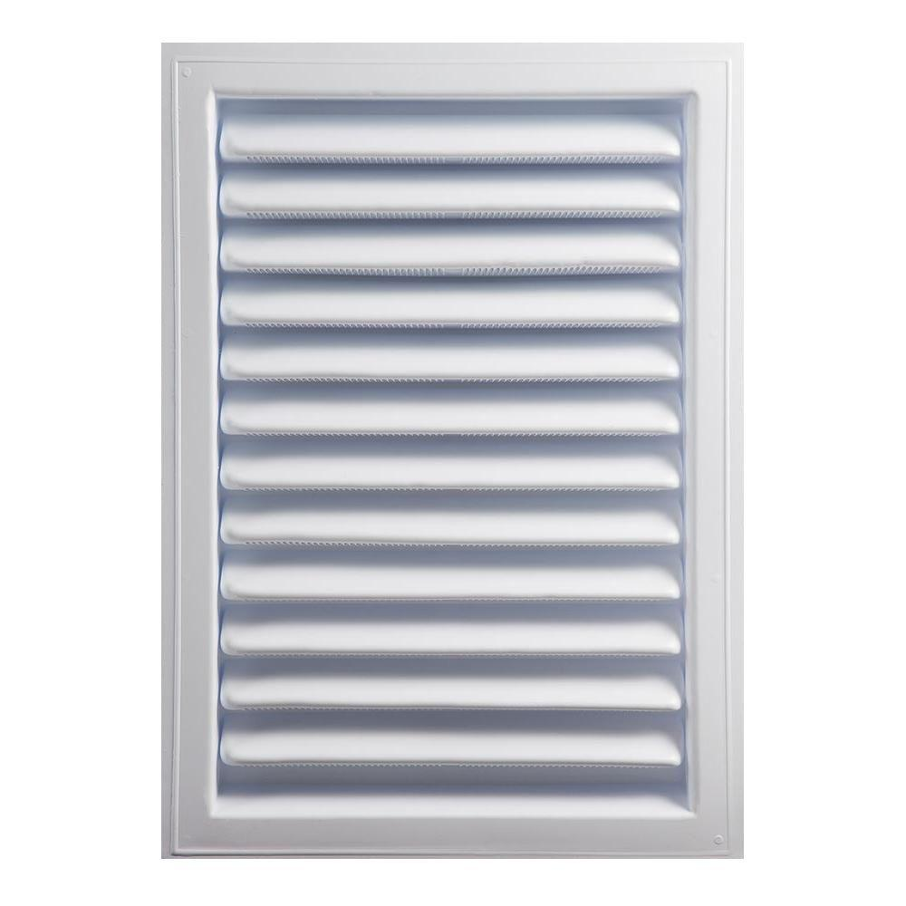 Master Flow 18 In X 24 In Plastic Wall Louver Static