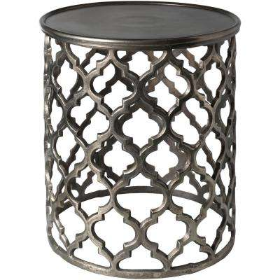 Olyea Charcoal Accent Table