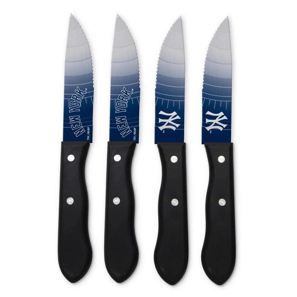 MLB New York Yankees Steak Knives (4-Pack)