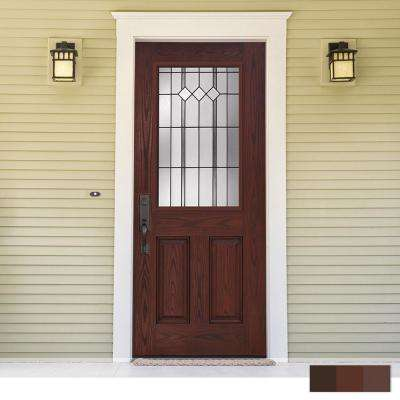 Epic Collection Customizable Fiberglass Prehung Front Door