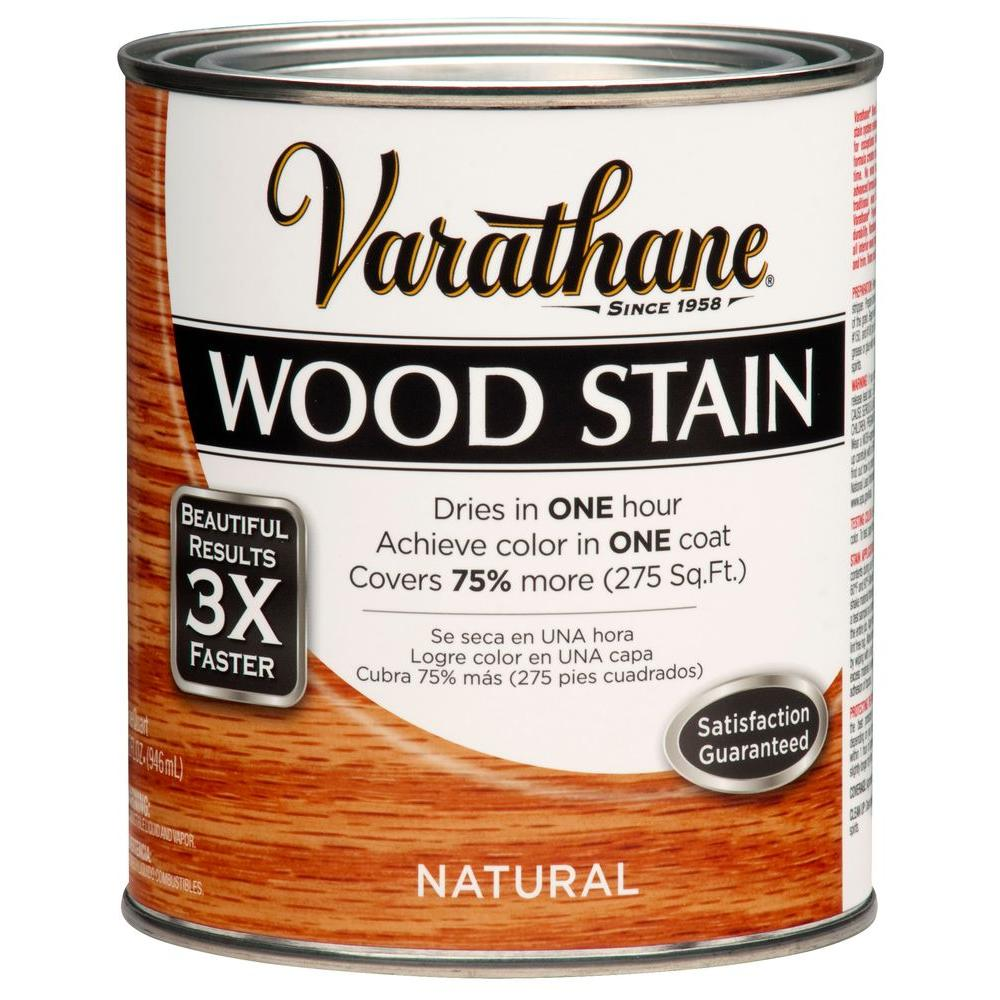 Varathane 1 qt. 3X Natural Premium Wood Stain