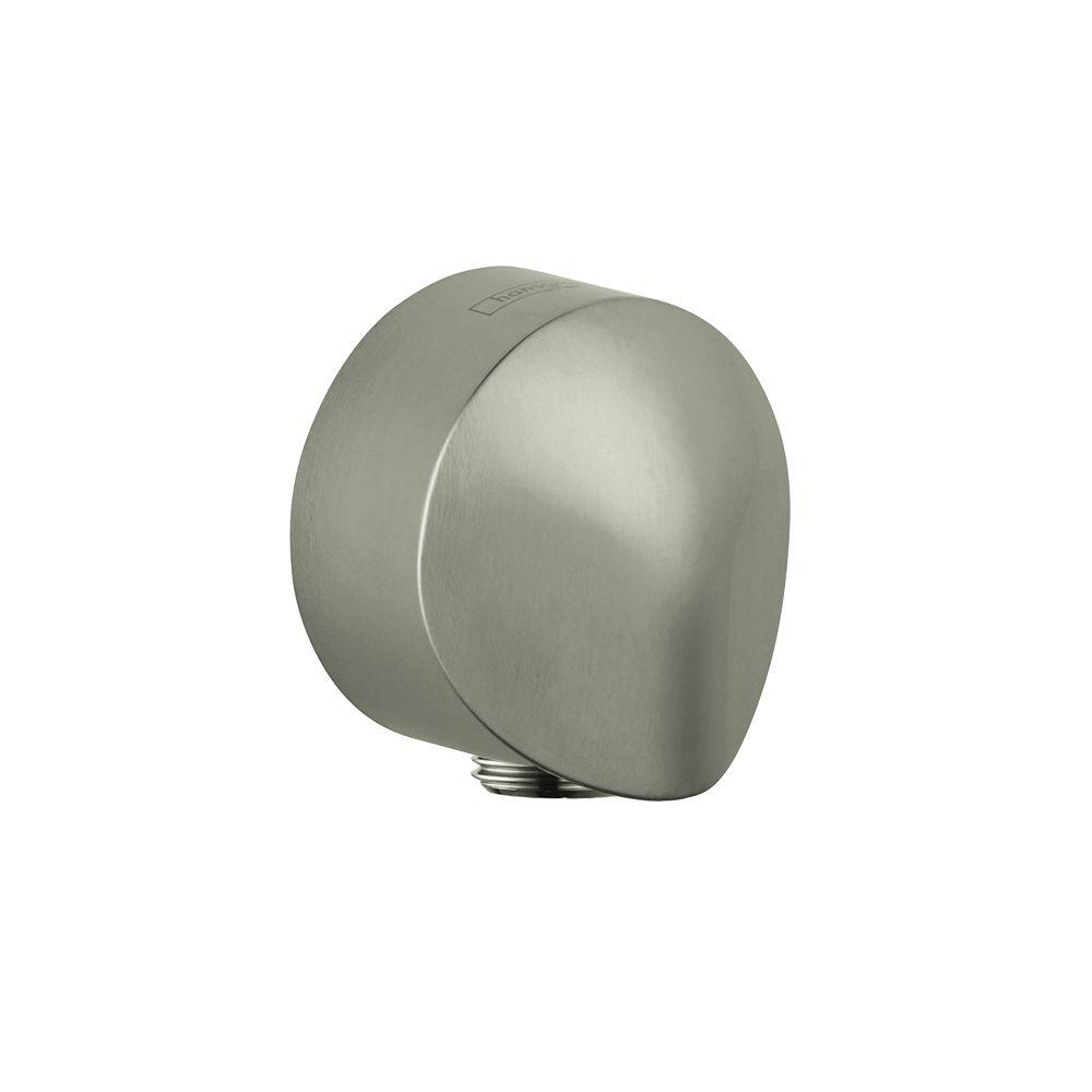 Hansgrohe Wall Outlet in Brushed Nickel