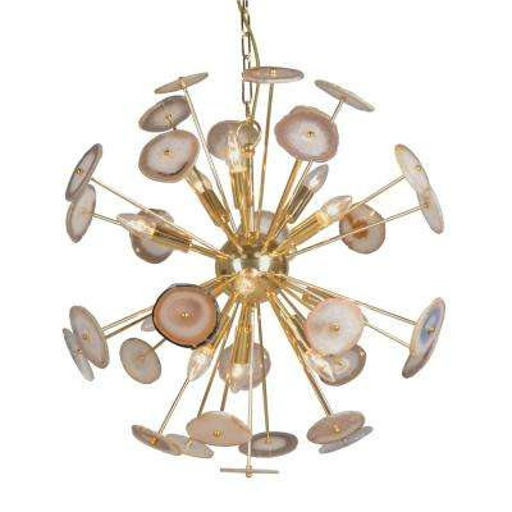 gold sputnik chandelier. 12-Light Gold Chandelier Sputnik