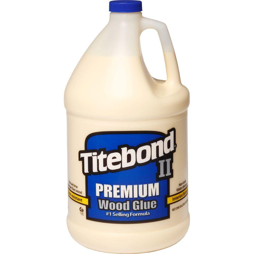 Titebond II Premium Wood Glue Gal (2-Pack)-5006 - The Home Depot