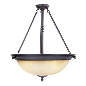 Designers fountain branson collection 3 light oil rubbed bronze designers fountain branson collection 3 light oil rubbed bronze hangingceiling light 94031 orb the home depot aloadofball Image collections