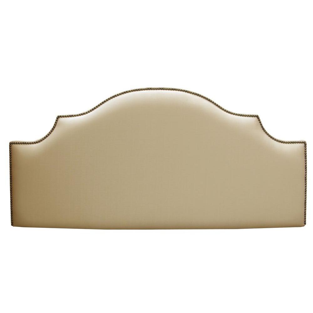 Home Decorators Collection Verona Sandstone King Headboar...