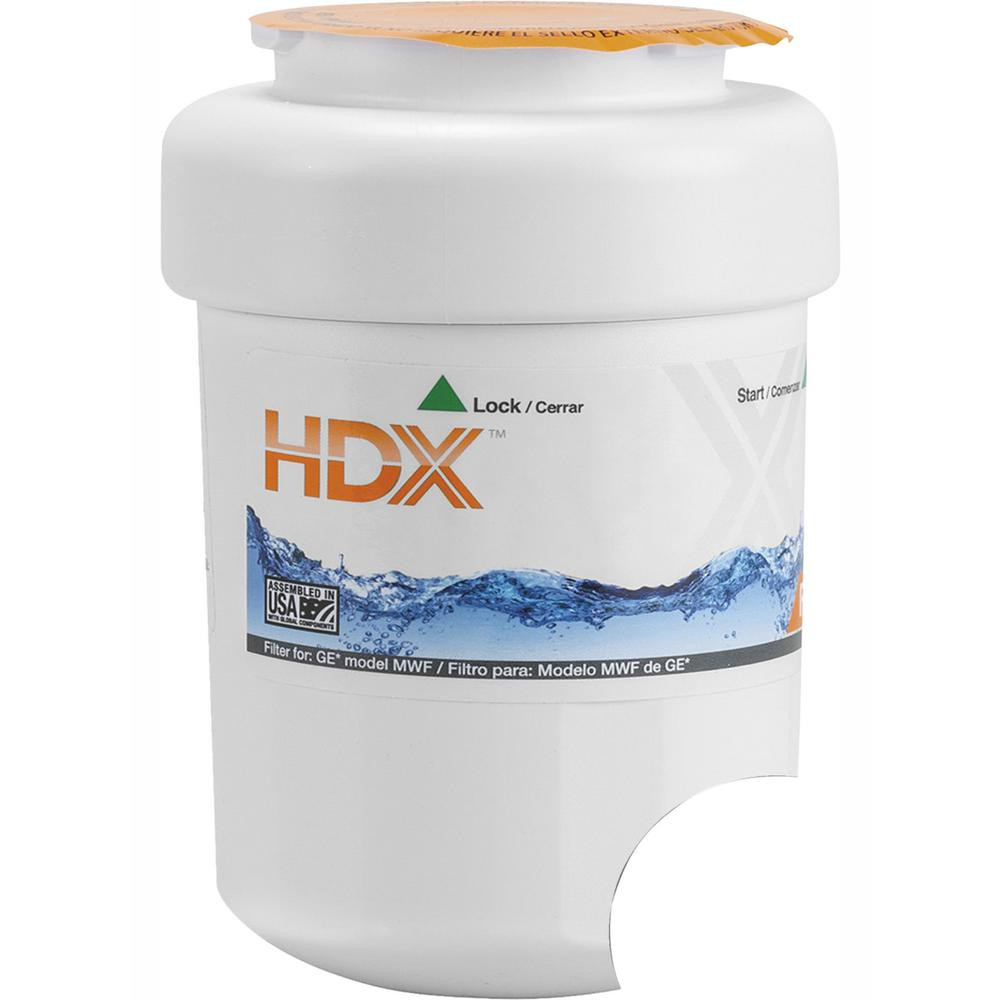 HDX Water Filter for GE Refrigerators (1-Filter)