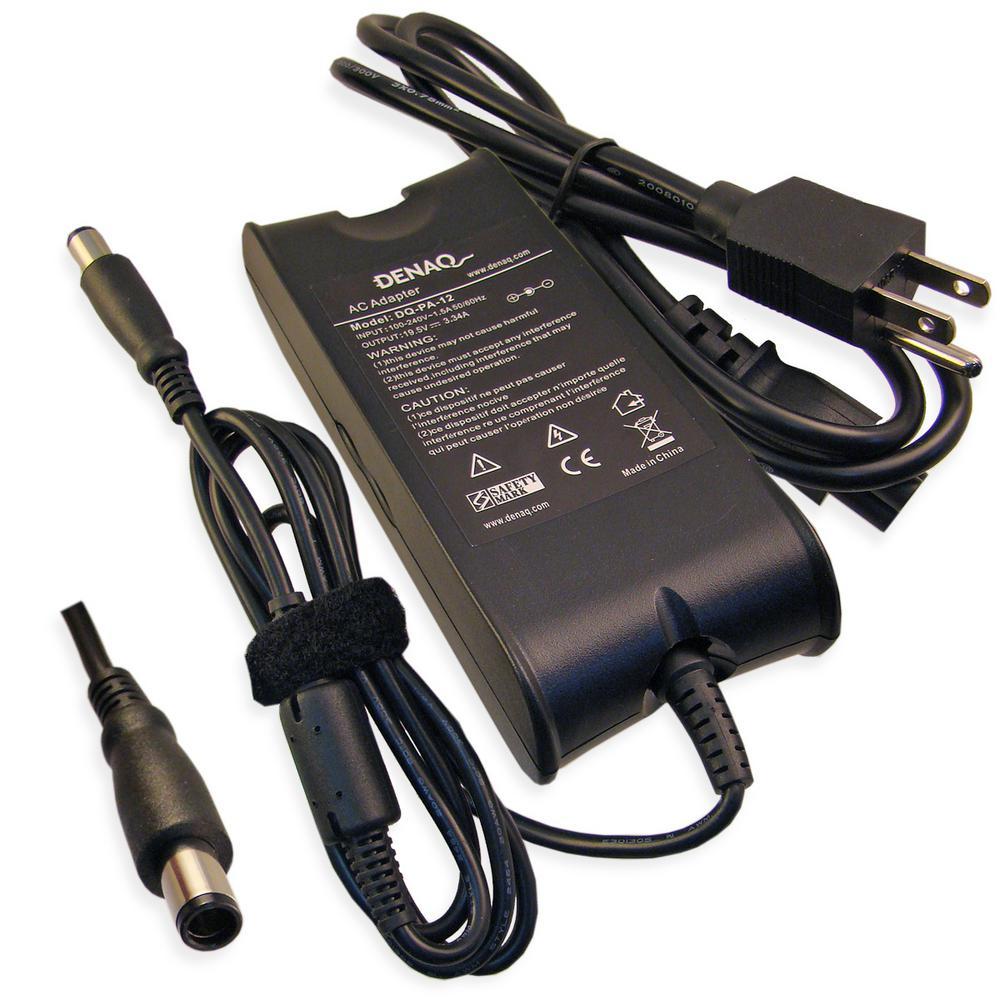 DENAQ 19.5-Volt 3.34 Amp 7.4 mm-5.0 mm AC Adapter for Del...