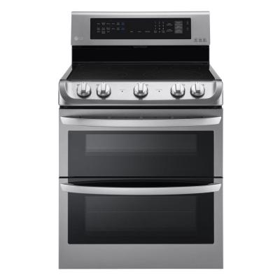 7.3 cu. ft. Double Oven Electric Range with ProBake Convection, Self Clean and EasyClean in Stainless Steel
