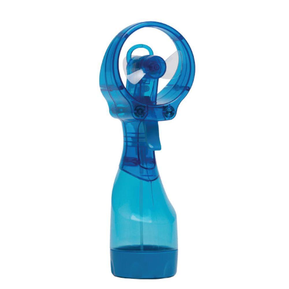 Deluxe 3.07 in. Water Misting Fan in Blue