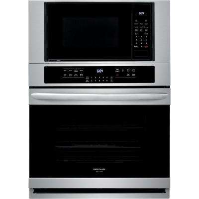 Electric True Convection Wall Oven With Built In Microwave Stainless Steel