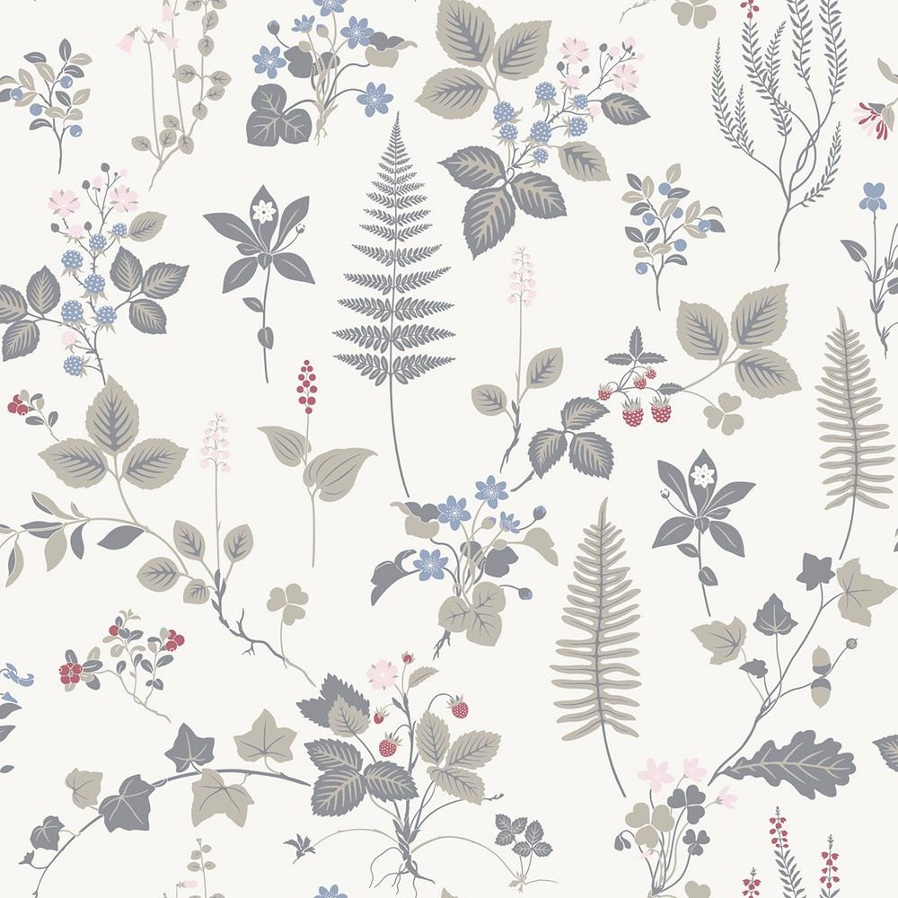 Stormare Multicolor Botanical Paper Strippable Wallpaper (Covers 56.4 sq. ft.)