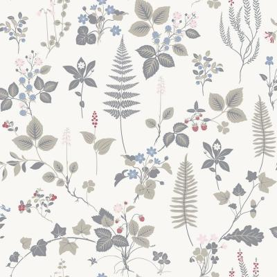 Stormare Multicolor Botanical Wallpaper