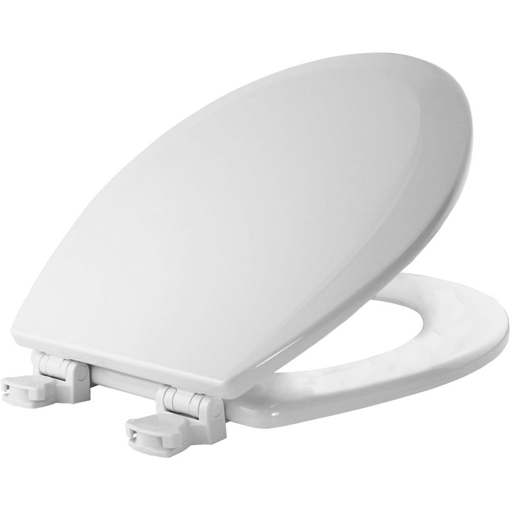 Lift Off Round Closed Front Toilet Seat In White 500ec 000