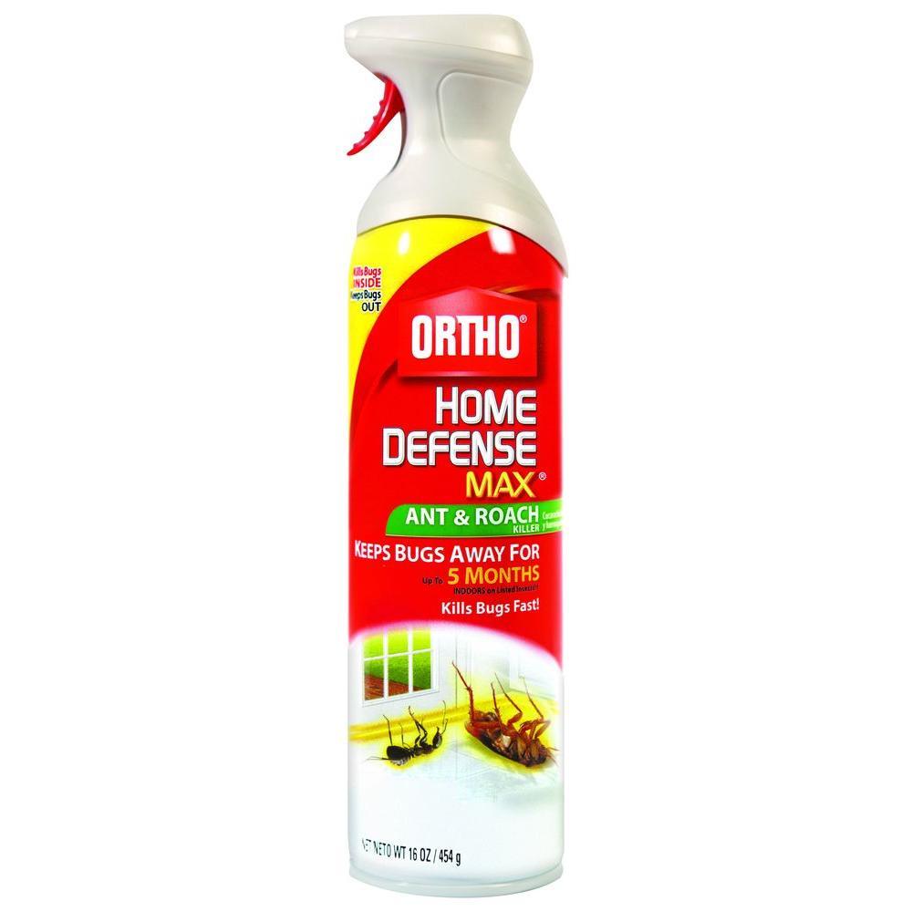 Ortho Home Defense Max 16 Oz. Aerosol Ant And Roach Killer