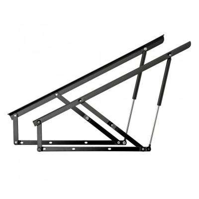 Gas Spring-Assisted 239 lbs. Storage Queen Bed Foot End Lift Mechanism