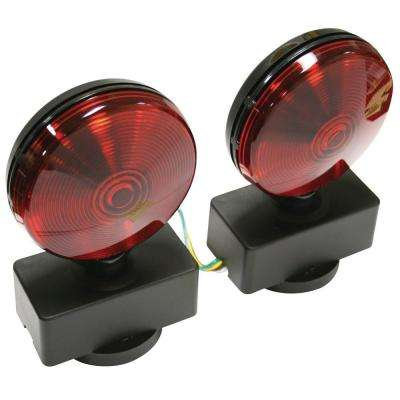 Red/Red Magnetic Base Tow Light