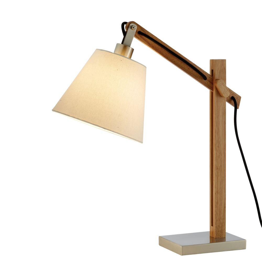 Adesso Walden 25 in. H Natural Table Lamp