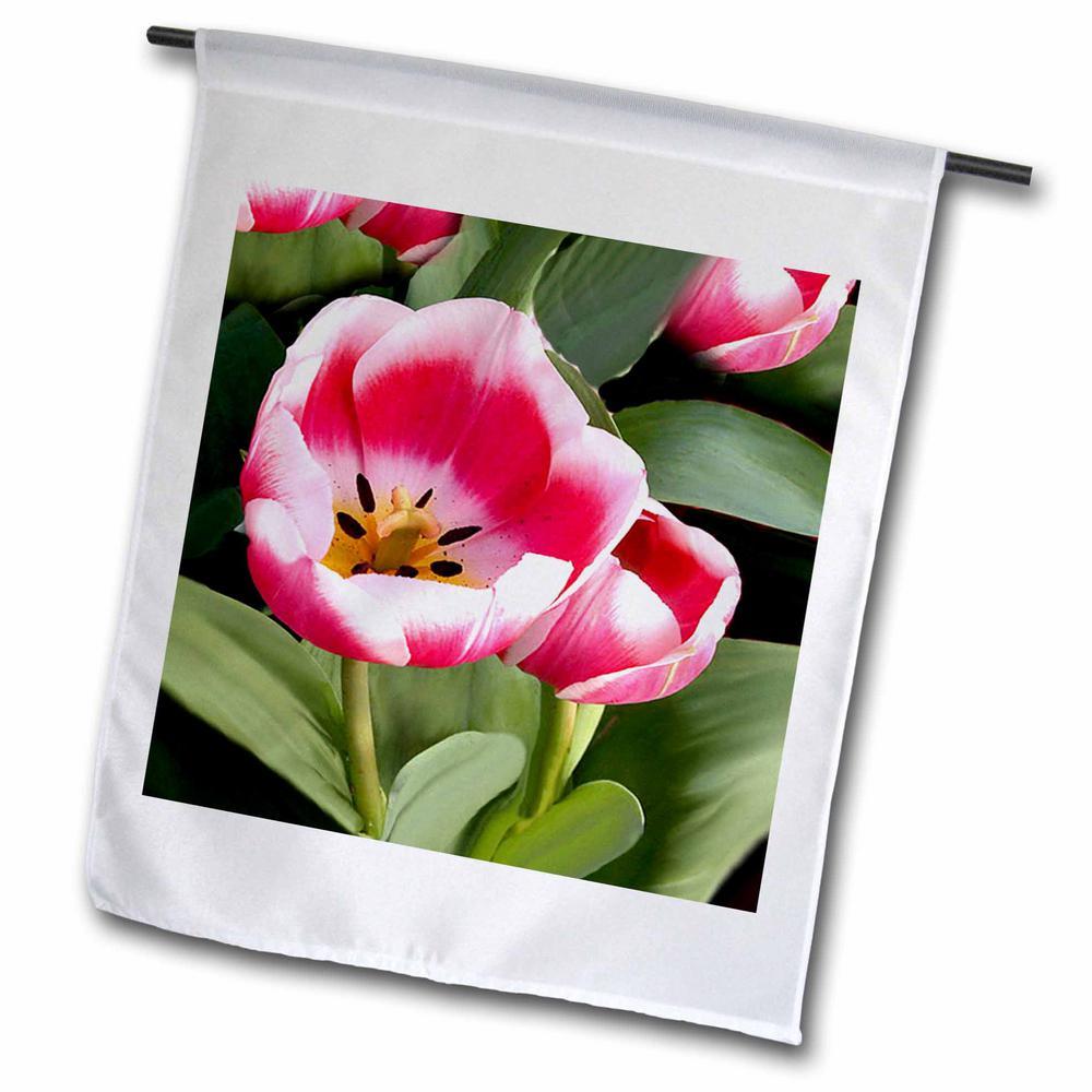 Flowers 1 ft. x 1-1/2 ft. Tulips Flag