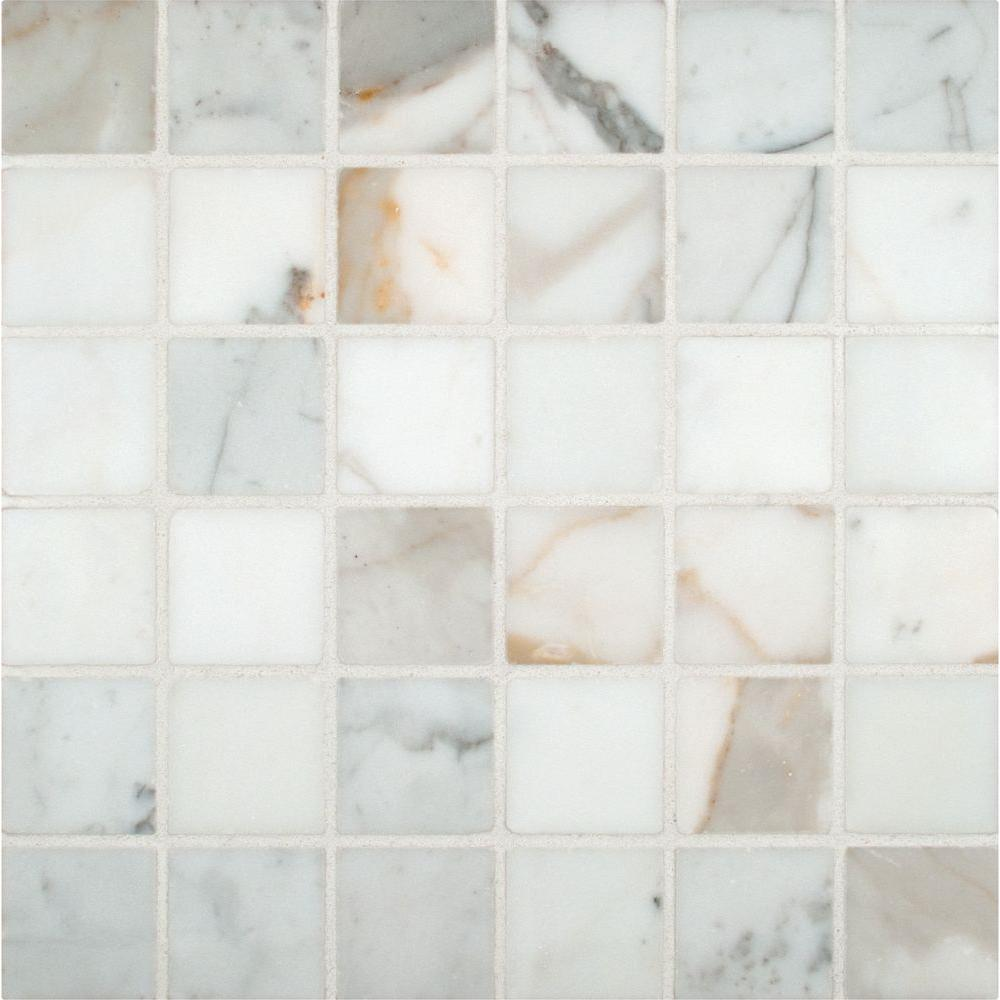 Calacatta Gold 12 in. x 12 in. x 10 mm Polished