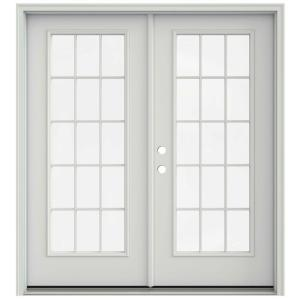 Jeld wen 72 in x 80 in primed steel right hand inswing for 18 x 80 french door