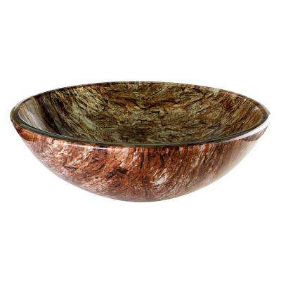 Gorge Vessel Sink in Multi Colors
