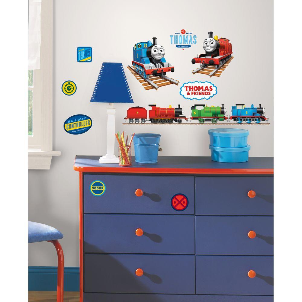 Roommates Thomas The Tank Engine L And Stick Wall Decal