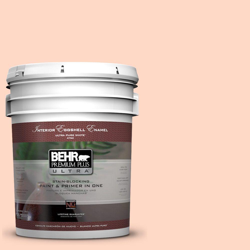 BEHR Premium Plus Ultra 5-gal. #220A-2 Friendship Eggshell Enamel Interior Paint