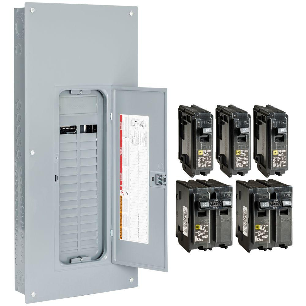 square d subpanel kits hom3060l225pgcvp 64_1000 subpanels breaker boxes the home depot  at soozxer.org