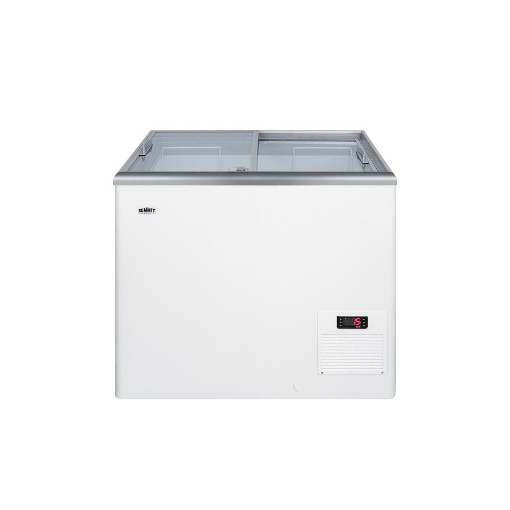 Summit Appliance 7.2 cu. ft. Manual Defrost Commercial Chest Freezer in White